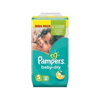Pampers Baby Dry 11 - 16KG 108's Size 5