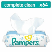 Pampers Complete Clean Wipes 64's