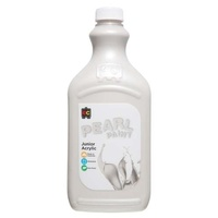 Pearl Liquicryl Junior Acrylic Paint White 2L