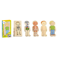 Beleduc Multilayer Wooden Puzzle - Little Boy (Age 4-6)