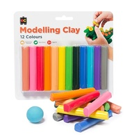 Fun Clay Assorted Colours 12 Pack