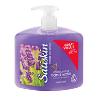 Satiskin Hand Wash Lavender 400mL
