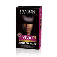 Revlon Realistic Vivid Hair Colour Maroon Mojo 110ml