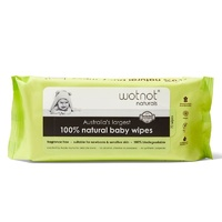 Wotnot Biodegradable Baby Wipes 70's