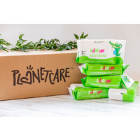 Planet Care Biodegradable Flushable Wipes 24 x 80's
