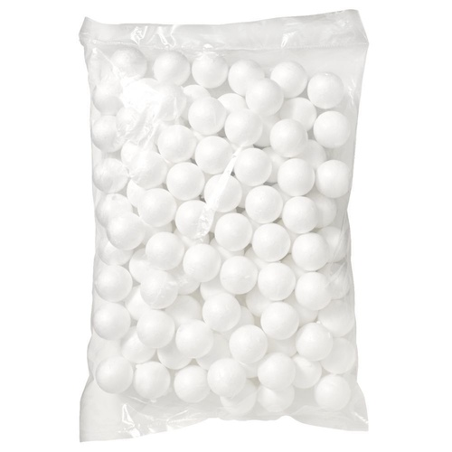 Jasart Polystyrene Balls 40mm Pack of 100