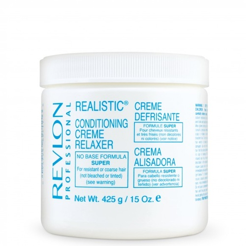 Revlon Realistic No-Base Conditioning Creme Relaxer Super 425g (15oz)
