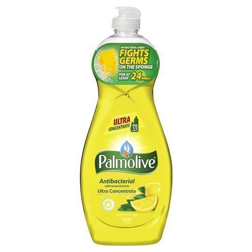 Palmolive Dishwashing Liquid Antibacterial with Lemon Extracts 750mL